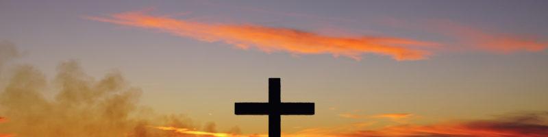 Cross Sunset Good Friday