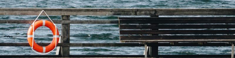 Life Preserver on Dock